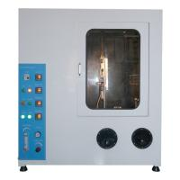 Wholesale Horizontal / Vertical Burning Test Chamber Spray Tank , 180×560mm Specimen Holder from china suppliers