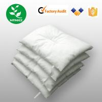 Buy cheap ISO 9000:2008 100% PP white industrial oil Spill Control Absorbent pillow from wholesalers