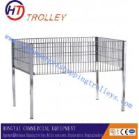 Wholesale Sales Display Wire Goods Cage Sample Display Racks Floor Stand With Legs from china suppliers