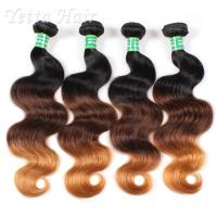 Wholesale 18 Inch Colorful Peruvian 7A Virgin Hair Weave Without Chemical from china suppliers