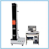 Wholesale Fiber Tensile Universal Testing Machine / Manual Tensile Tester With Double Space from china suppliers