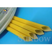 Wholesale Silicone Rubber Braided Fiberglass Sleeving Silicone Fiberglass Sleeving from china suppliers