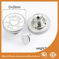 Wholesale Metal Zinc Alloy Garment Accessories Jeans Button , Multi Colors custom clothing buttons from china suppliers