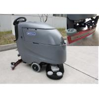 Quality Different Color Auto Floor Scrubbing Machines Battery Powered Ametek Suction Motor for sale