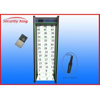 Wholesale 45 zones door frame walking through inspection metal detector XST-F45 from china suppliers