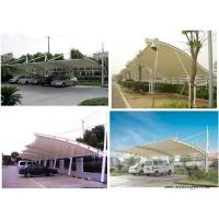 Wholesale High Safety Metal Car Canopy Tents Tensile Structure For Car / Bus Parking from china suppliers