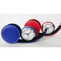 Wholesale Leather Travel Alarm Clock from china suppliers