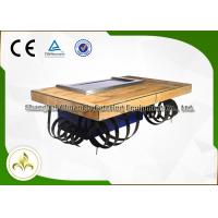 Wholesale Fleeting Times Teppanyaki Hibachi Grill Equipment , Japanese Restaurant Grill Table from china suppliers