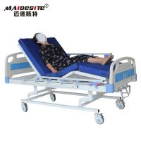 Wholesale Three Cranks Manual Hospital Beds , Adjustable Patient Bed Easy Operation With Controller from china suppliers