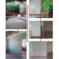Buy cheap Paperfaced Perlite celling Board for celling insulation board/wall partion materials from wholesalers