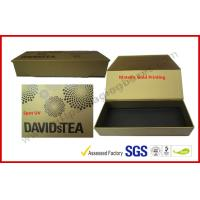 Quality Metallic Printing Gift Packaging Boxes , Household Candle Aromatherapy Oils Gift Magnetic Package for sale