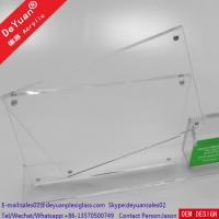 Wholesale Plastic Menu Holder Table Stand Usage With Bussiness Card Box from china suppliers