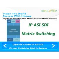 Wholesale DVB IPTV OTT Headend Live Video Streaming IP ASI SDI Based Switching Matrix System from china suppliers
