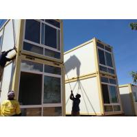 Wholesale Two Story Prefabricated Container Houses , Flat Roof House from china suppliers