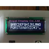 Wholesale ROYAL DISPLAY White 16x2 Lcd Display , Lcd Va Panel For Gaming RYB1602A from china suppliers