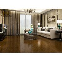 Wholesale Pometia Decorative Wood Flooring , Interior Wood Floor Crack Resistant from china suppliers