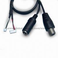 Wholesale DC Jack Cable Assembly for CCTV, RoHS Compliant from china suppliers