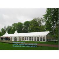 Wholesale Aluminum Wedding Maquee White Marquee Tents With Waterproof  Flame Retardent PVC Fabric from china suppliers