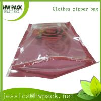 Wholesale clothes easy open zipper bag from china suppliers