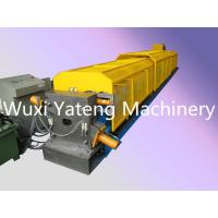 Wholesale Rectangle Structure Portable Roll Forming Machine , Fully Automatic Gutter Making Machine from china suppliers