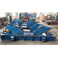 Wholesale Hydraulic Fit Up Rotator 160Ton Wind Tower Growing line Move on Rails from china suppliers