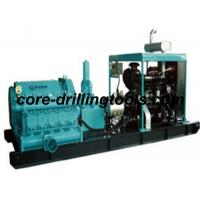 Wholesale High Pressure Drilling Mud Pump Module With Diesel Engine 264KW from china suppliers