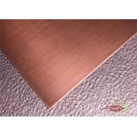 Wholesale Customized Metallic Pure Sheets Of Copper Foil Metal With OEM ODM Service from china suppliers