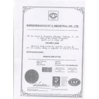 WONDERFUL PCB (HK) LIMITED Certifications