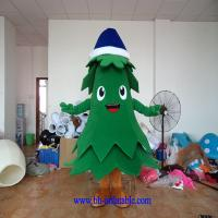 Wholesale Christmas tree mascot costume from china suppliers