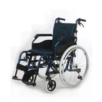 Wholesale Durable Folding Back Bariatric Manual Wheelchair With Fashionable Outer Cover from china suppliers