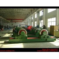 Wholesale 5 Ton Bolt Adjustable Steel Tank Welding Pipe Roller Rotator , Cylinder  Turning Roll Machine from china suppliers
