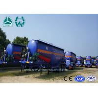 Buy cheap Heavy Capacity Bulk Cement Tanker Semi Trailer / Tri Axle Dry Bulk Tank Trailer from wholesalers