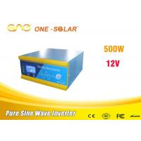Wholesale Portable Single Phase Inverter Dc 12v To Ac 220v 500 Watt Off Grid Solar Inverter from china suppliers