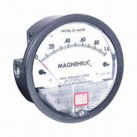 Wholesale Magnehelic Differential Pressure Gauge, Indicates Positive, Negative or Differential from china suppliers