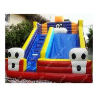 Wholesale Kids Exciting Football Inflatable Outdoor Water Slide With Dual Sewing from china suppliers