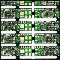 Wholesale Single-sided Gold Plating PCB with Black Sold Mask and 1.6mm Board Thickness from china suppliers