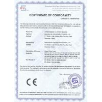 Q-YING (HK) INDUSTRIAL CO.,LIMITED Certifications