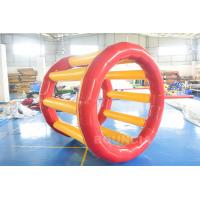 Wholesale PVC Tarpaulin Inflatable Hamster Wheel For Outdoor Water Activity from china suppliers