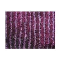 Wholesale Purple Polyester Zebra Shaggy Rug, Solid Color Rugs Latex Cotton Canvas Backing from china suppliers