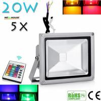 Wholesale Beautiful Design 30W RGB LED Outdoor Waterproof Flood Light Wash Floodlight Lighting With Remote Controller AC85-265V from china suppliers