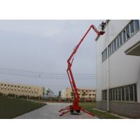 Wholesale ISO / CE 53M Crawler Telescopic Upright Boom Lifts With 350KG Loading Capacity from china suppliers