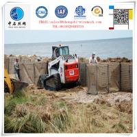 Factary price Durable Galvanized gabion barrier for fortification