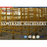 Wholesale Yellow Paint Construction Ring Lock Scaffolding System For Building Maintenance from china suppliers