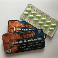 Wholesale Maxman Sex Pills Enhancer for Male 100% Herbal Extract Natural Sex Enhancer Sex Product for Male Effective pills from china suppliers