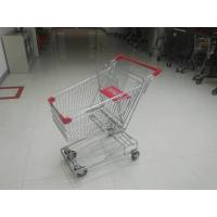 Wholesale Portable 80L Steel Wire Shopping Trolley For Medium Supermarket from china suppliers