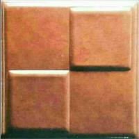 Wholesale -20°C Cold Resistance Beautiful 3D Leather Wall Panels For Commercial from china suppliers