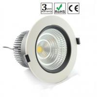 Wholesale Round Recessed 6 Inch San'an 15W COB LED Downlight 960lumen 1500mm from china suppliers