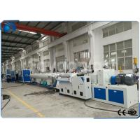 Wholesale 50~160mm PVC Pipe Extrusion Machine / UPVC Extrusion Machinery Double Screw from china suppliers
