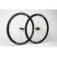 38mm Carbon Clincher Wheelset For UD Road Bike , Shimano Carbon Speed Cycle Wheels