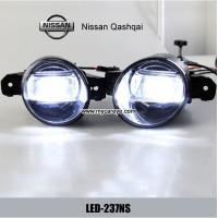 Wholesale Nissan Qashqai car front fog light LED daytime driving lights drl for sale from china suppliers